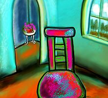 THE ARTIST'S CHAIR by Frances Perea