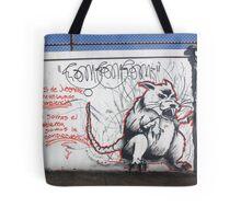 RAT IN THE RUN Tote Bag