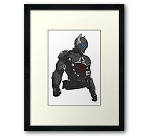 Dark Knight colored Framed Print