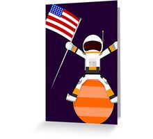 Top of the world Greeting Card