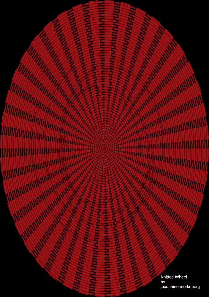 Knitted wheel by josy65