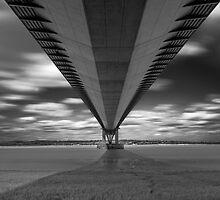 Humber Bridge, England by John Hall