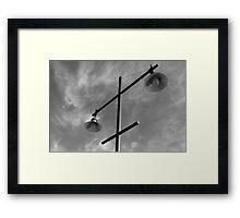 Launceston Lamp Framed Print