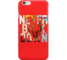 Naruto - Never Back Down iPhone Case/Skin