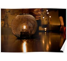 Candle Holder Poster