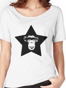 Monkey Superstar Women's Relaxed Fit T-Shirt