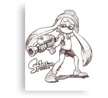 Splatoon ! Canvas Print