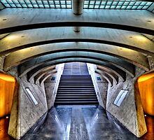 Liege-Guillemins Train Station - Belgium by Jeremy Lavender Photography