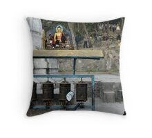Precincts of the Sacred Throw Pillow