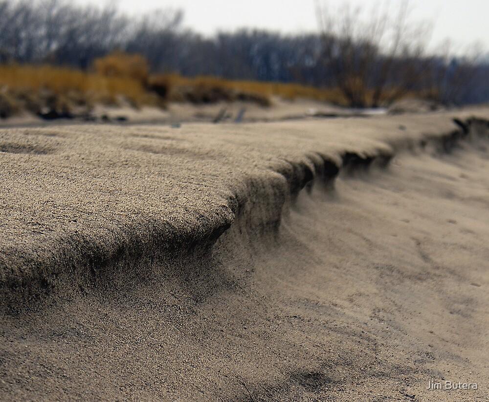 A walk along the beach by Jim Butera
