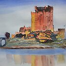 Eilean Donan Castle Dornie Inverness Shire Scotland by Warren  Thompson