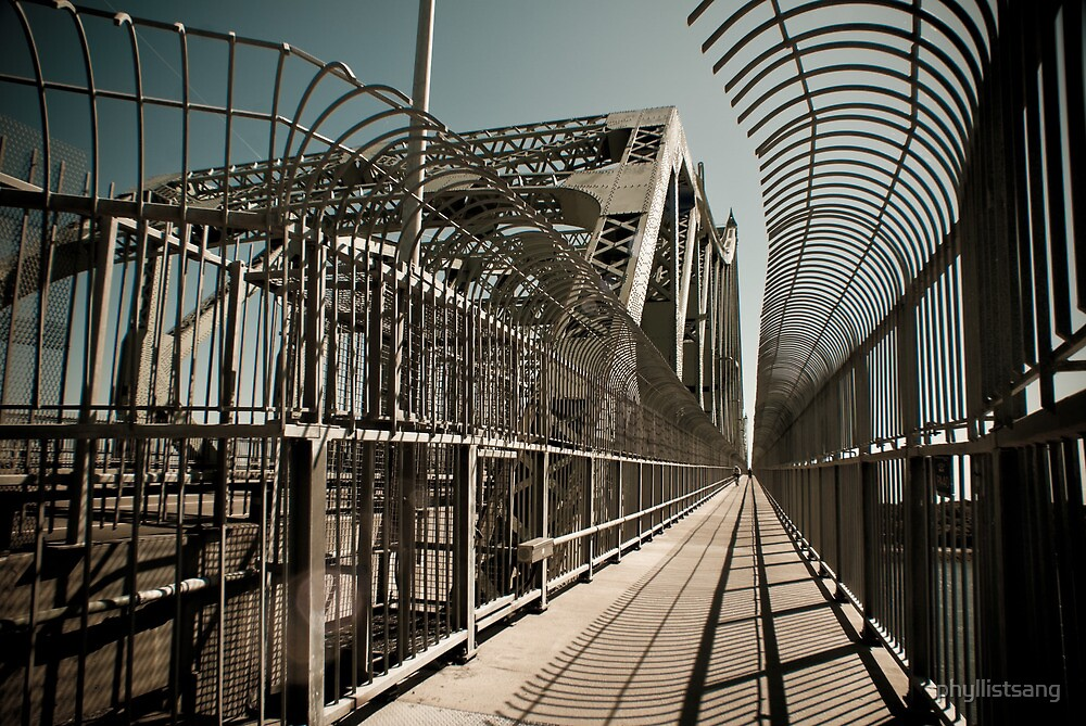 Jacques Cartier Bridge by phyllistsang