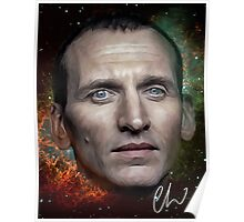 Christopher Eccleston - Former Doctor Who Portrait Painting Poster