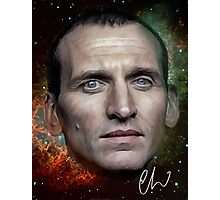 Christopher Eccleston - Former Doctor Who Portrait Painting Photographic Print