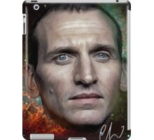 Christopher Eccleston - Former Doctor Who Portrait Painting iPad Case/Skin