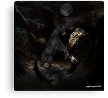 deadly assassin Canvas Print