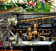 1912 Rols-Royce Silver Ghost Roi des Belges Tourer Engine by TeeMack