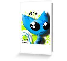 Mew! Greeting Card