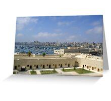 Egypt - tiltshift Greeting Card