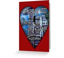 Henry VIII Valentine Shirt Greeting Card