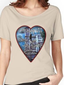 Henry VIII Valentine Shirt Women's Relaxed Fit T-Shirt