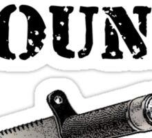 STICK AROUND!! -Predator Sticker