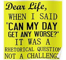 DEAR LIFE Poster