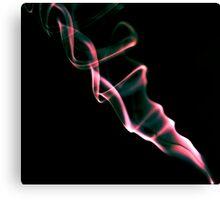 Smoke Ribbons Canvas Print
