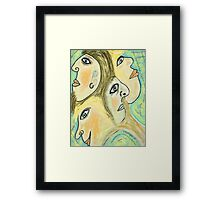 Four Heads Are Better Than One Framed Print