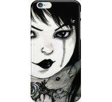 Goth Girl iPhone Case/Skin