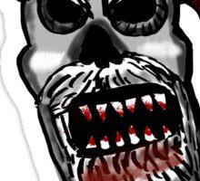 Zombie Santa  Sticker