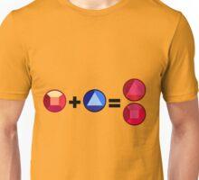 Ruby + Sapphire = Garnet Unisex T-Shirt
