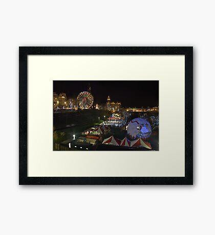 Edinburgh's Christmas Framed Print