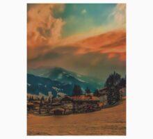 a stunning Austria landscape Kids Clothes