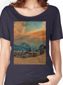a stunning Austria landscape Women's Relaxed Fit T-Shirt
