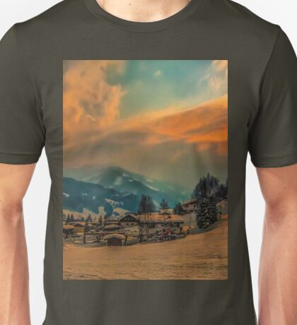 a stunning Austria landscape Unisex T-Shirt