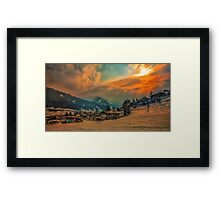 a stunning Austria landscape Framed Print
