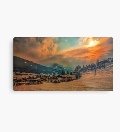 a stunning Austria landscape Metal Print