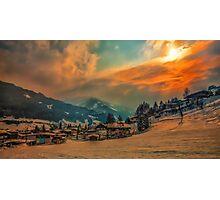 a stunning Austria landscape Photographic Print