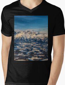 a historic Austria landscape Mens V-Neck T-Shirt