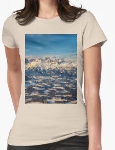 a historic Austria landscape Womens Fitted T-Shirt