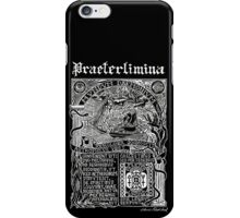 Astrophilus & Xenologia Print - Black iPhone Case/Skin