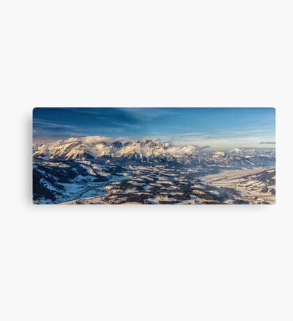 a historic Austria landscape Metal Print