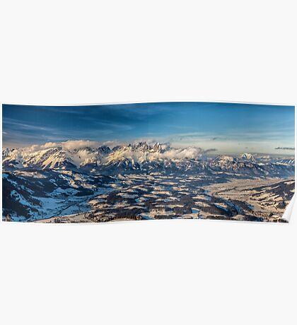 a historic Austria landscape Poster