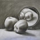 Reflection of Apples by Xtianna