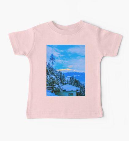 a colourful Austria landscape Baby Tee