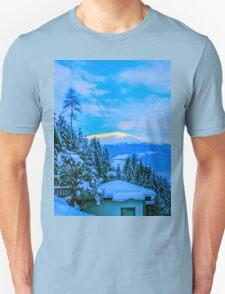 a colourful Austria landscape Unisex T-Shirt