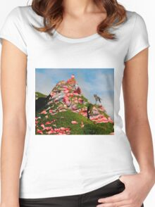 Meat Mountain Women's Fitted Scoop T-Shirt