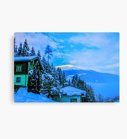 a colourful Austria landscape Metal Print