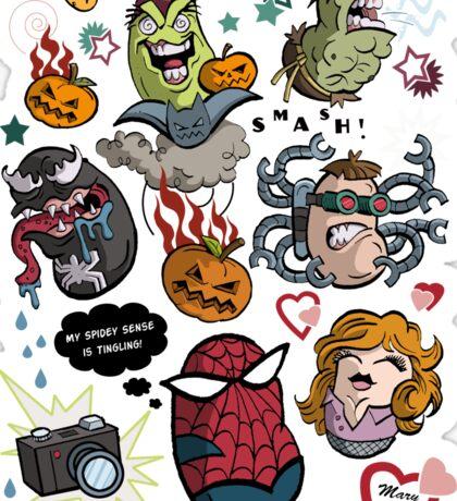 Spidey and Friends Sticker
